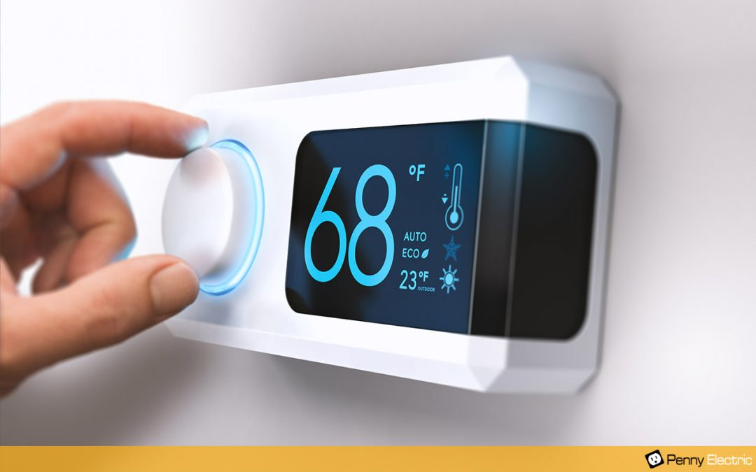 Penny Electric Programmable Thermostats
